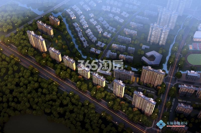 碧桂园南光城鸟瞰图