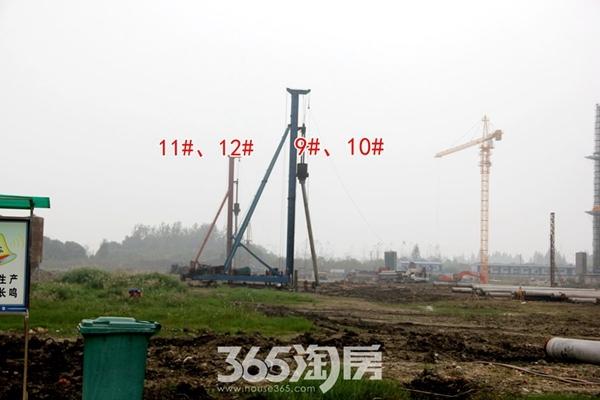信德悦城9#10#11#12#施工开建(2017.10摄)
