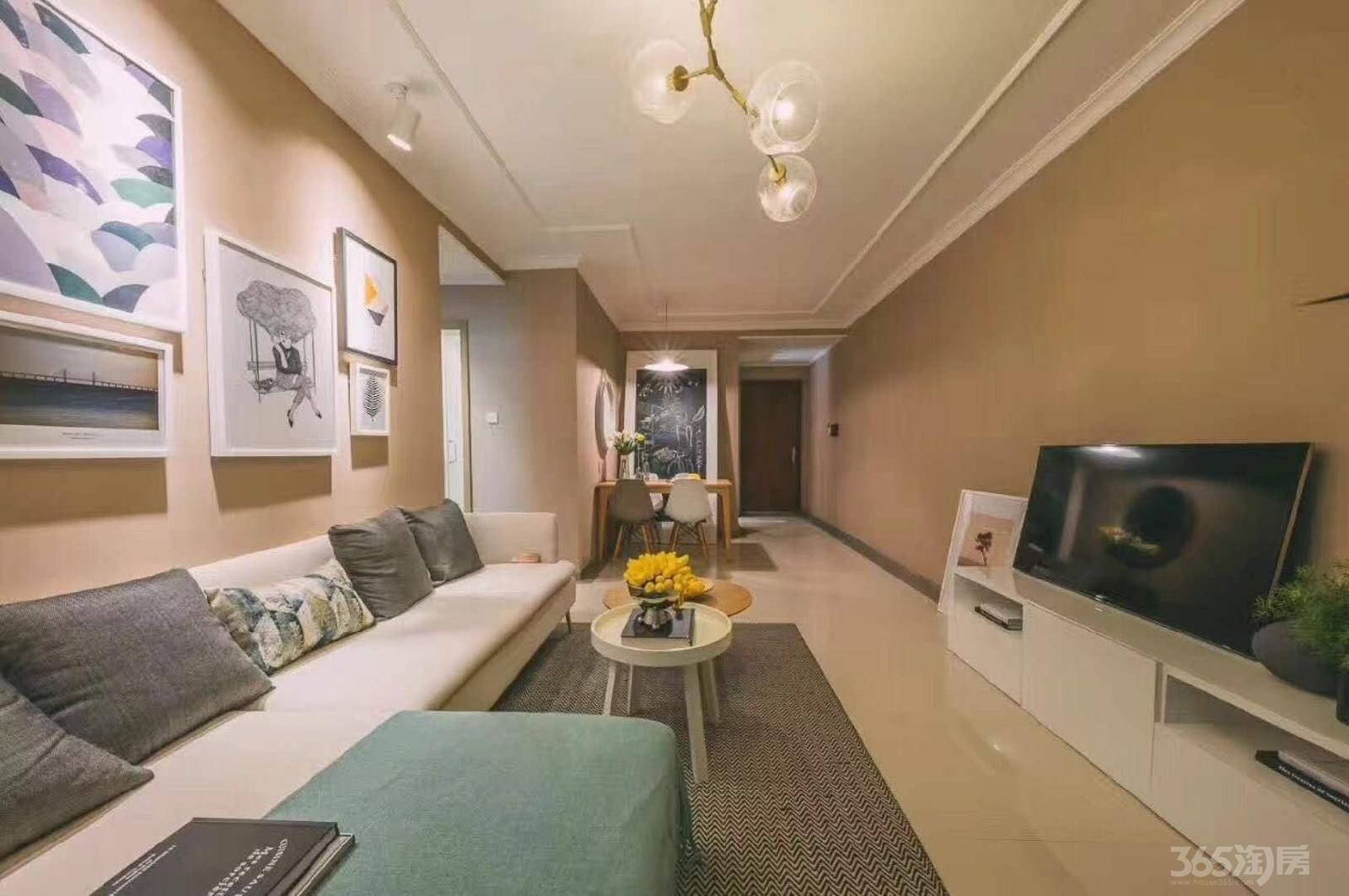 富力乌衣水镇3室2厅2卫105平米2015年产权房精装