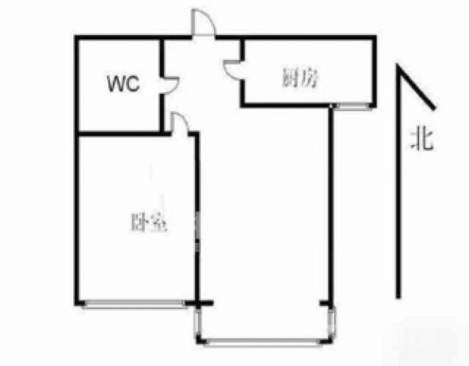 星光园1室1厅1卫87平米精装产权房2006年建满五年