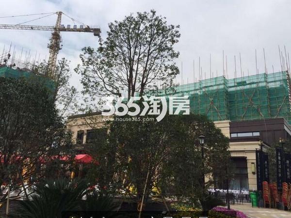 融科瑷颐湾实景图(2016.11 摄)