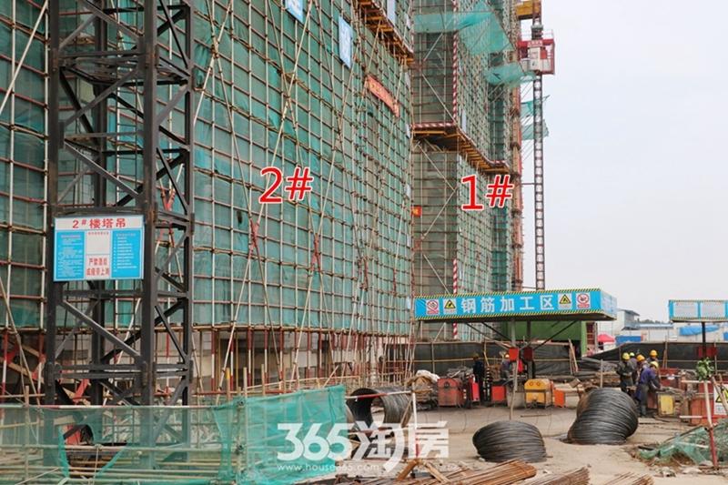 伟星芜湖院子2#1#工程进度(2019.3)