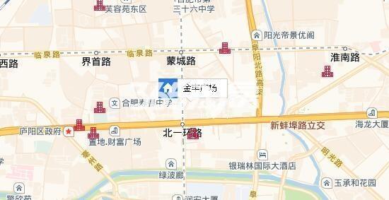 金丰广场交通图