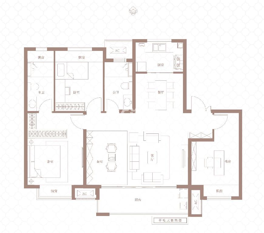 127平 四室两厅两卫