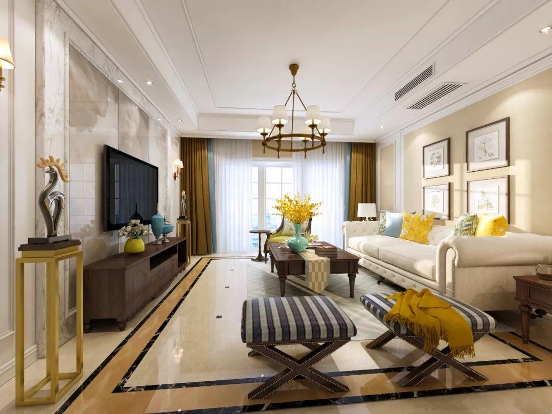 案例|客厅案例|简美风格