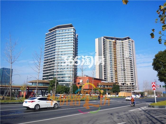 翠屏诚园项目周边实景图(1.21)
