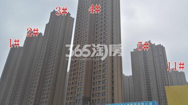 雨润新城实景图