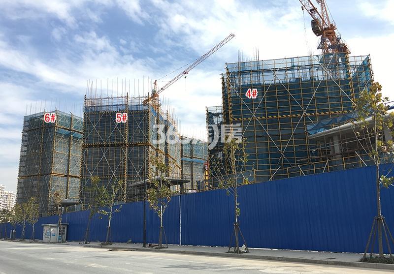 中国铁建西湖国际城4-6号楼实景图(2017.11)