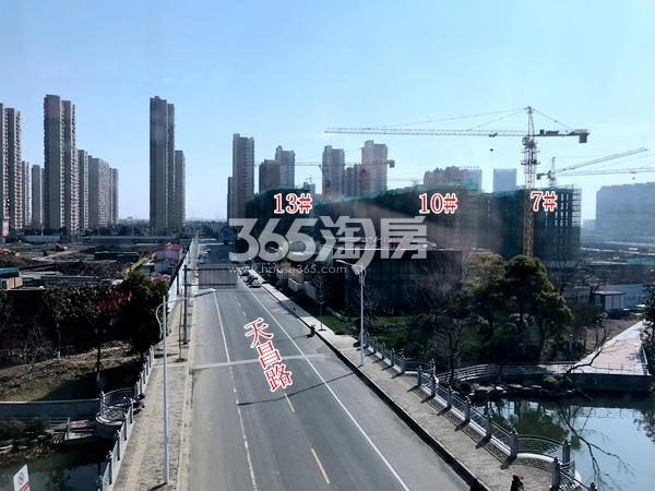 万科天一玖著7#、10#、13#楼洋房最新进展(2018.3)