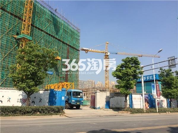 弘阳时代中心施工进展(9.18)