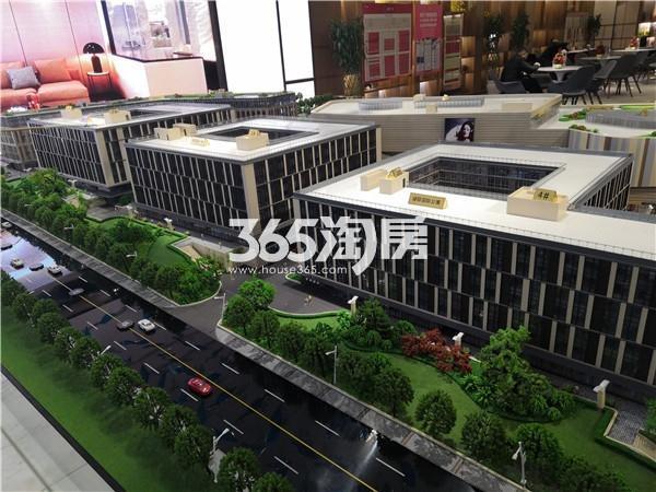 建发紫悦广场实景图