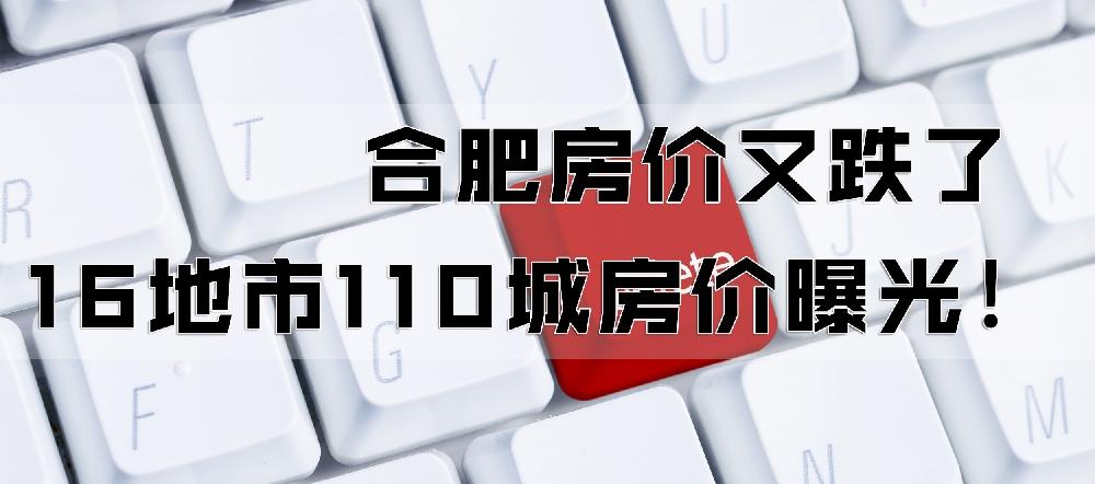 16地市110城房价曝光!