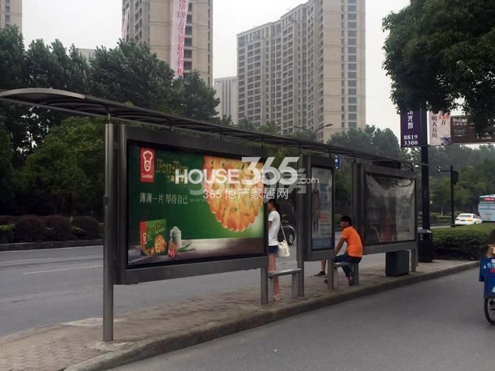2015年6月阳光郡项目周边公交站