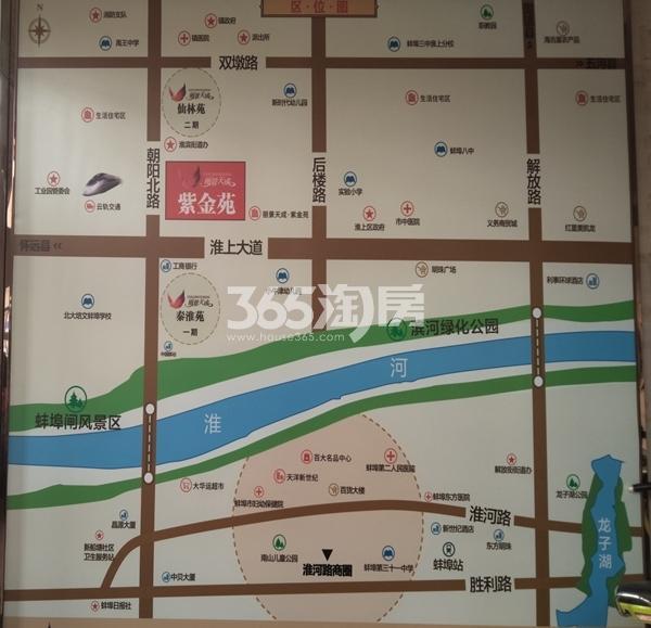 丽景天成(三期紫金苑) 区位图 201805