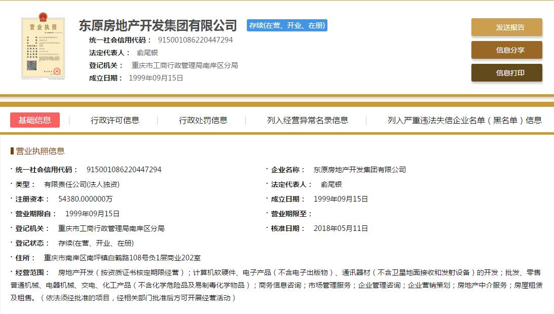 东原印长江销售证照