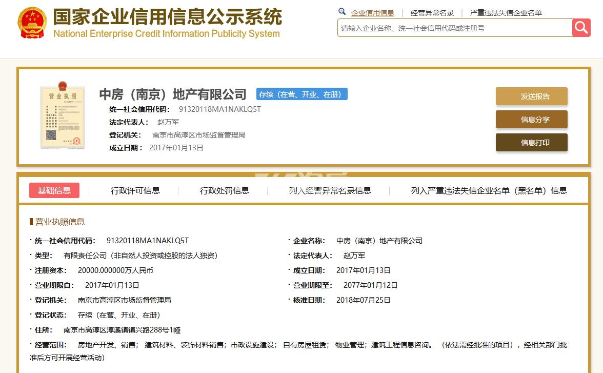 中交荣域销售证照