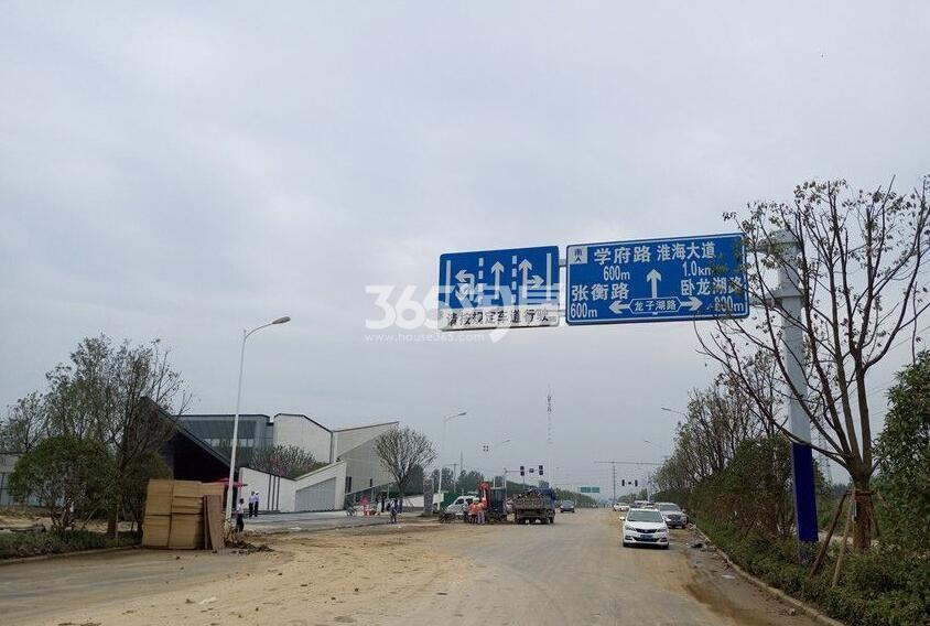 绿都地产少荃府周边交通(2018.01.09)