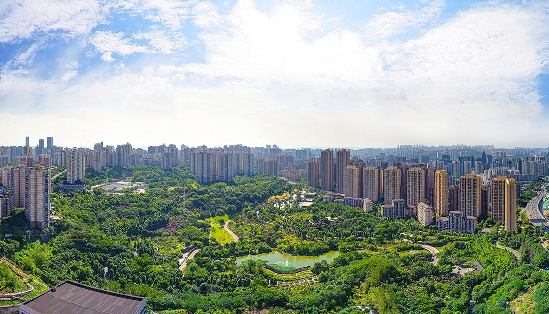 中海天钻实景图