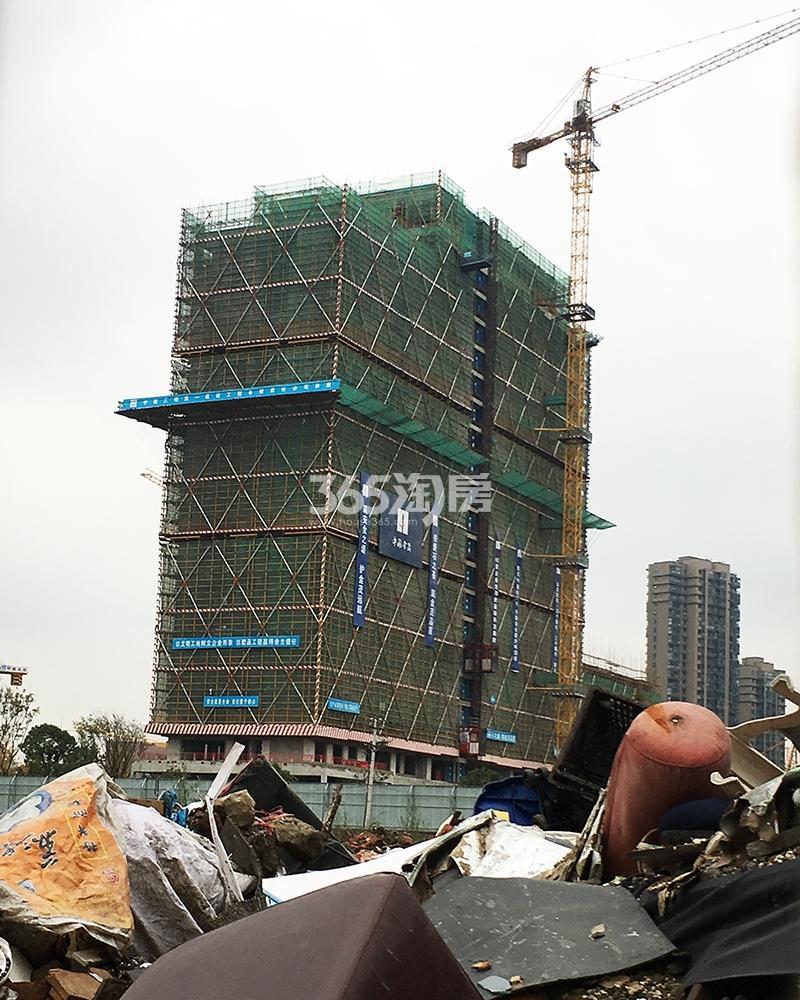 2017.11.30首开杭州金茂府6号楼实景