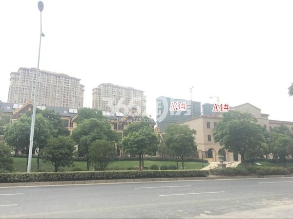 长泰国际社区高层A3#、A4#楼实景图(2017.10 摄)