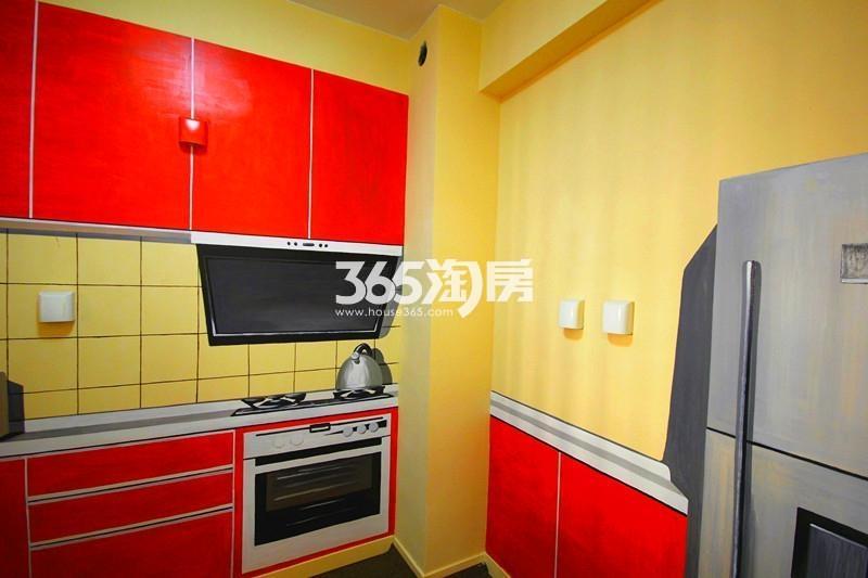 雅居乐国际花园B2户型110方样板房——厨房
