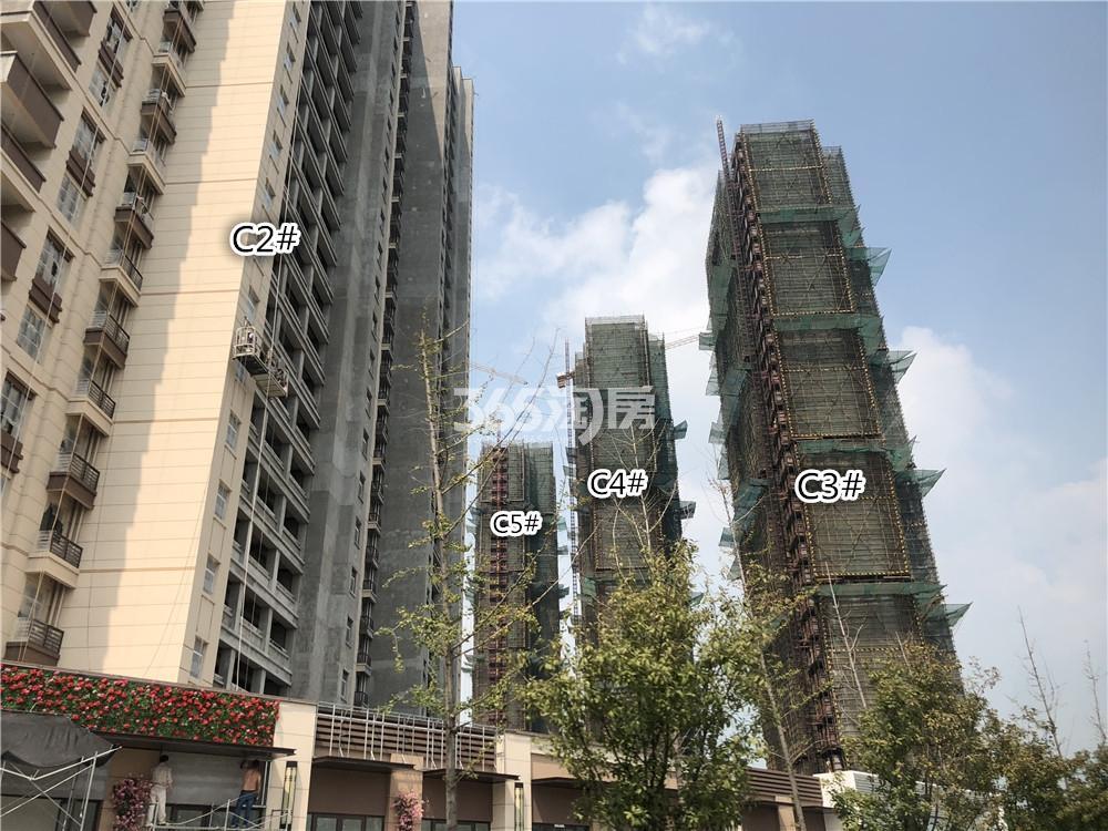 华润国际社区C2-C5号楼实景图(7.26)