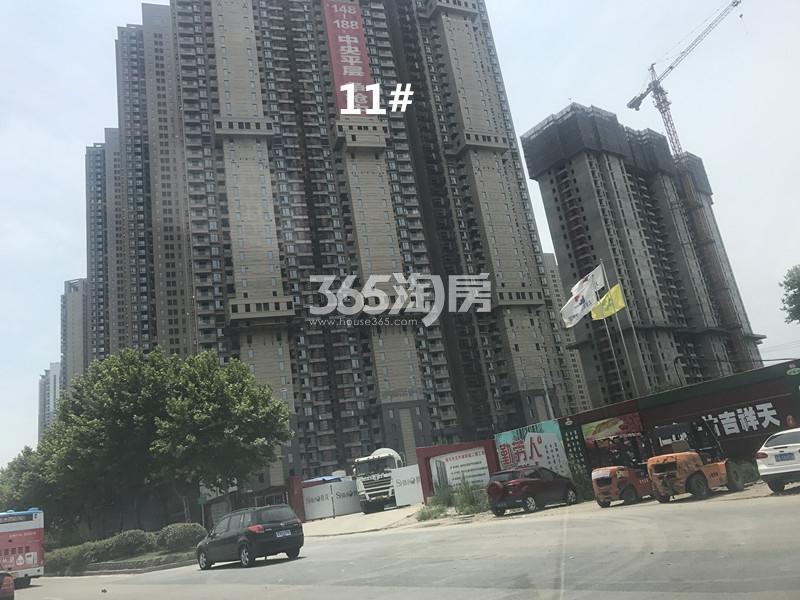 世茂外滩新城项目11号楼进展图(10.20)
