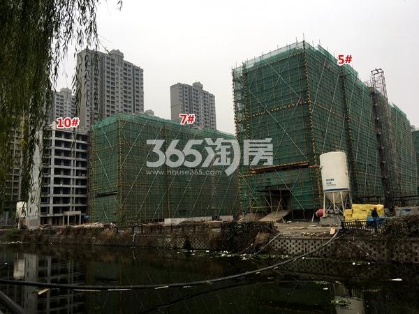 苏宁悦城四期5#、7#、10#楼洋房工程实景(2017.11摄)