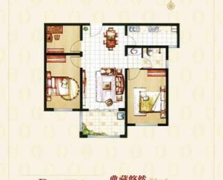 东海沃漫方景园3室2厅1卫99平米毛坯产权房2019年建