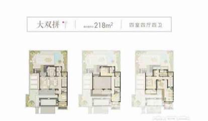 富力乌衣水镇别墅5室3厅4卫218㎡300万元