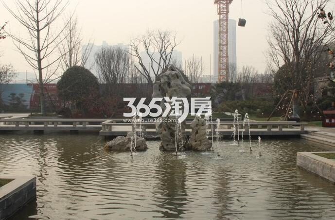 恒大翡翠龙庭园林实景图(2017年4月)