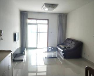 绵中旁海珂三千城中装两室带家具家电,18平米观景阳台,中层朝南