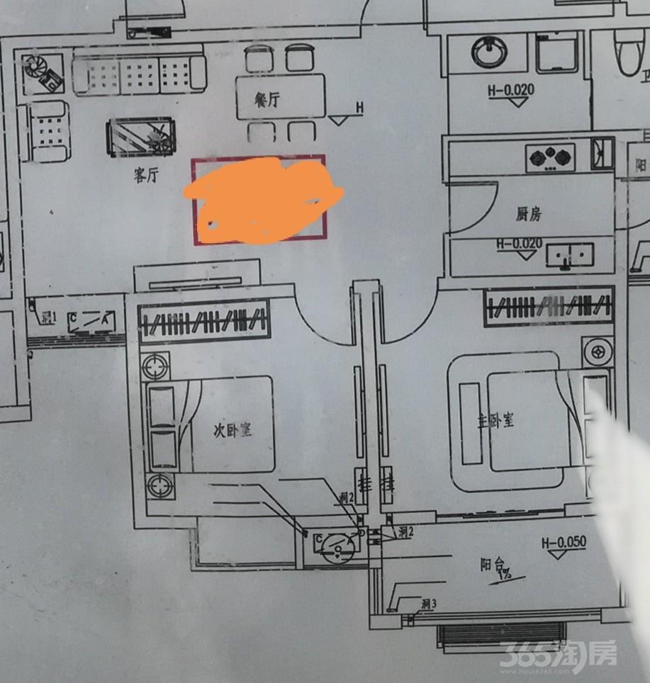 二套一楼陶山嘉苑91平米整租