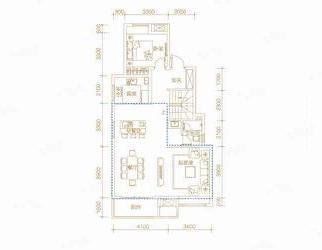 绿地海德公馆5室3厅3卫188平米整租毛坯