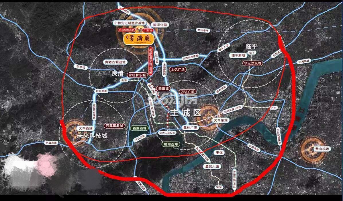 北成芳满庭交通图