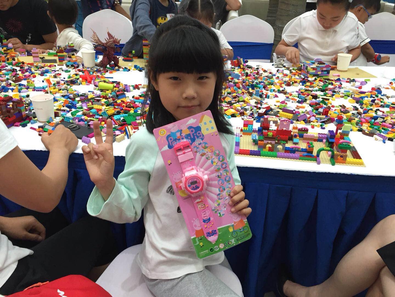 365直击:玩转思维 拼出梦想丨苏河湾乐高积木搭建活动