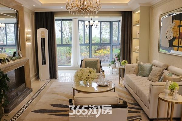 荣盛华府建面约137平样板间-客厅