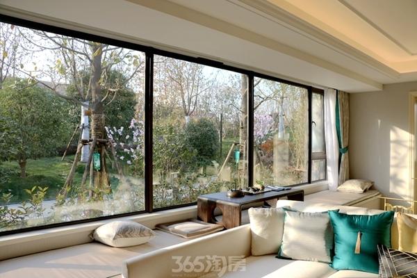 伟星金悦府公园洋房140平样板房——阳台