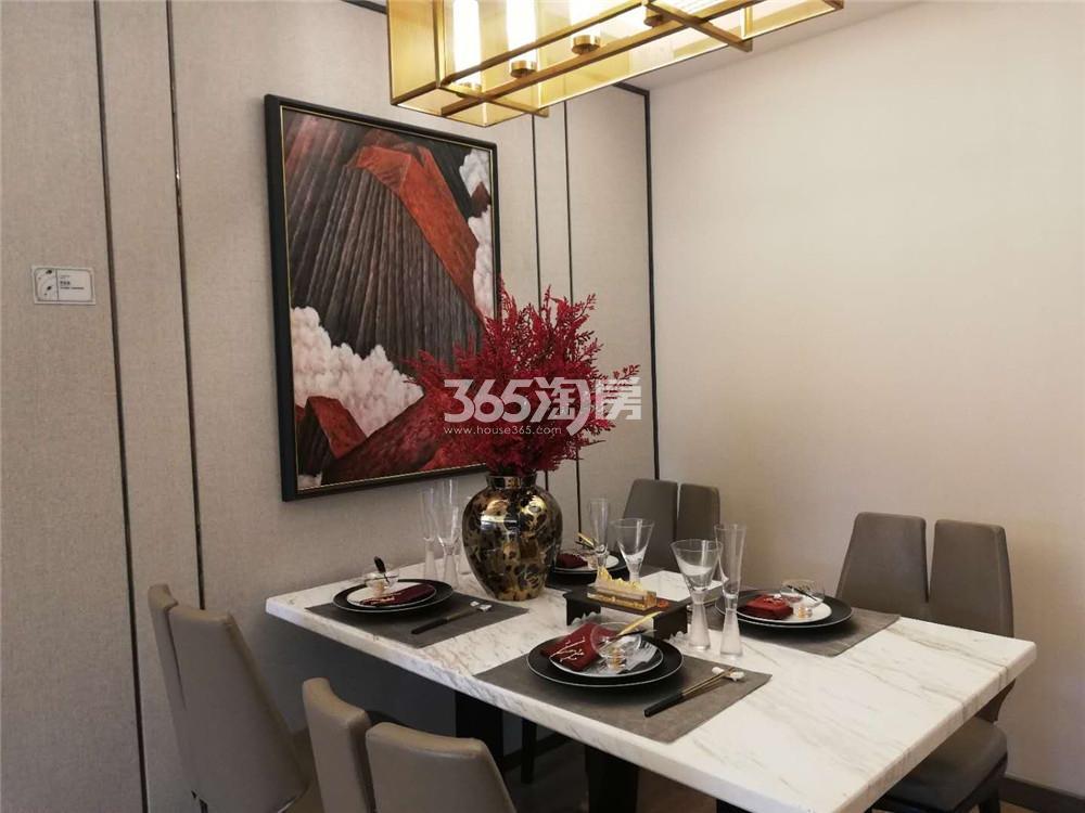 雅居乐御宾府140㎡户型样板间-餐厅