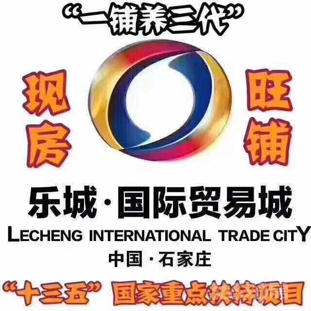 石家庄乐城国际贸易城25平米2013年新铺毛坯