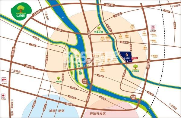 济河未来城交通图