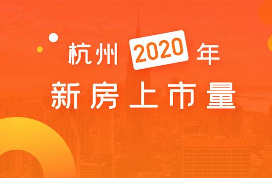 2020年杭州新房上市量汇总,228盘将推出新房源
