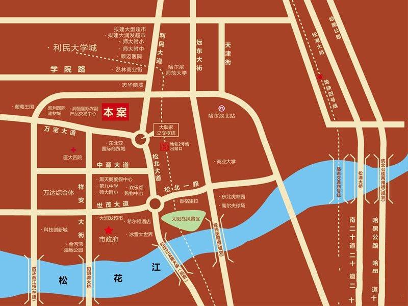 温泉壹号交通图