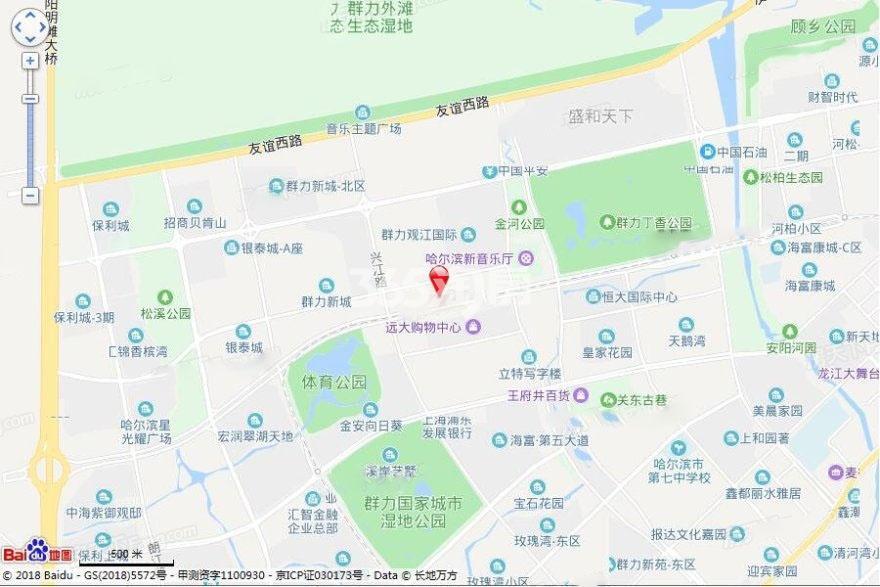 江城国际交通图