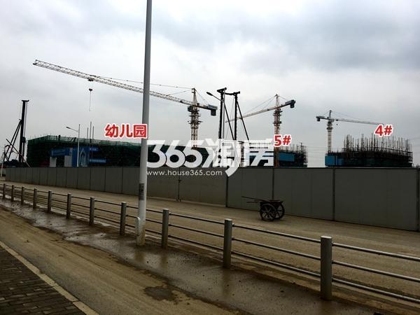 启迪协信无锡科技城A地块4#、5#楼工程实景(2017.9摄)