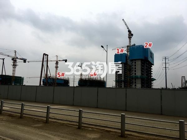 启迪协信无锡科技城A地块1-5#楼工程实景(2017.9摄)