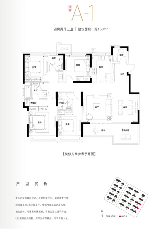 蓝光雍锦王府户型图