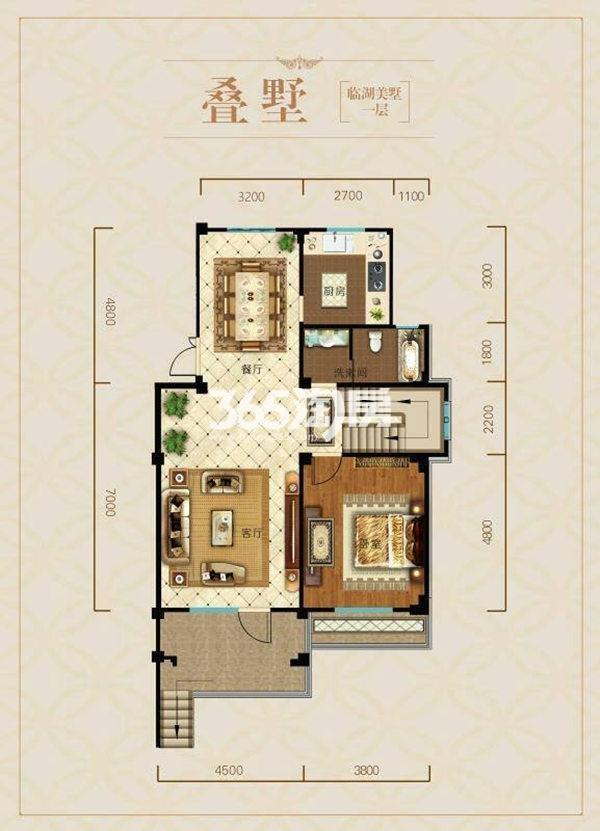 绿城御府184-189㎡ 户型图