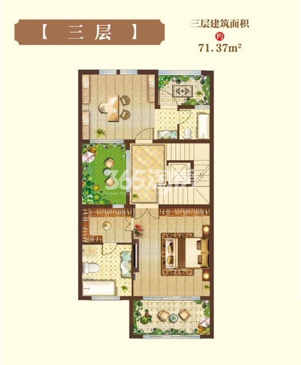 尚海滩·花园洋房户型图