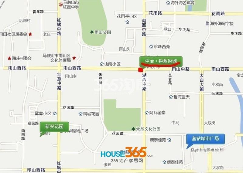 钟鼎悦城·紫云台交通图